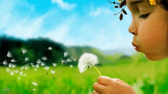 little_girl_blowing_a_dandelion_by_ramonfelinto-d4pq9zp