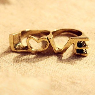 Hot-LOVE-letter-double-ring-metal-alloy-lover-ring-fashion-jewery-ring-novelty-christmas-gift-Wholesale